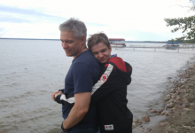 Hon. Mike Lake and his son Jaden