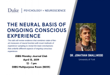The Neural Basis of Ongoing Conscious Experience   Dr. Jonathan Smallwood, University of York