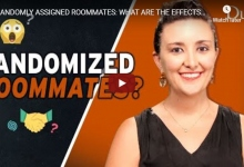 "Picture of Dr. Sarah Gaither from the Duke video, ""Randomized Roommates"""